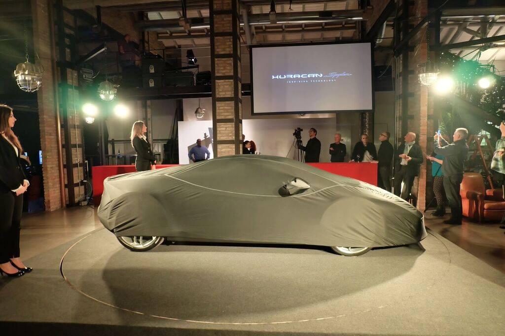 Lamborghini huracan spyder evento Bologna